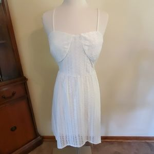 No Boundaries Dresses - White lace backless dress NWT xl 2 for 18